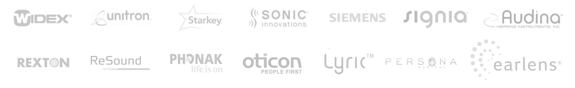 Hearing Aid Provider Logos